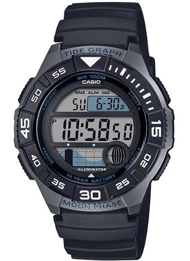 Casio Dijital Erkek Kol Saati WS-1100H-1AVDF Siyah